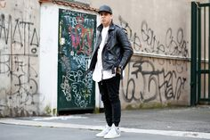 Street Style by Filling Pieces founder Guillaume Philibert #amsterdan #streetstyle #fillingpieces