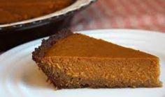 GF Gingersnap Pumpkin Pie | Gluten Free Recipe | The Best Gluten Free Recipes