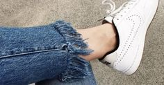 At some point since the whole distressed, frayed denim trend came back into fashion in a huge way, your mom probably asked if your jeans looked like that on purpose. And while your mother continues t...