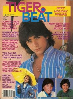 John Stamos -- I remember this issue because I liked all three of those boys!