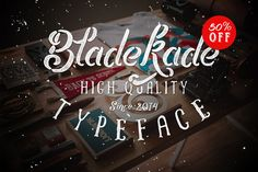 Bladekade (50%off and bonus) by maghrib on Creative Market