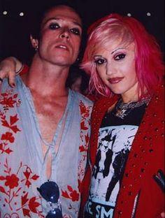 Scott Weiland and Gwen Stefani