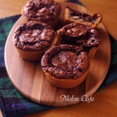 ホットケーキミックス(HM)でつくる、バレンタインの簡単『タウニー』☆タルトとチョコレートブラウニーのおいしいハイブリッドスイーツ♪+by+めろんぱんママさん+|+レシピブログ+-+料理ブログのレシピ満載! +こんばんは。ようこそ、いらっしゃいませ。訪れてくださって、ありがとうございます♪本日は、おやつにホットケーキミックスを使って手軽に作ることのできる、ハイブリッドスイーツ「タウニー」を焼いてみました。...