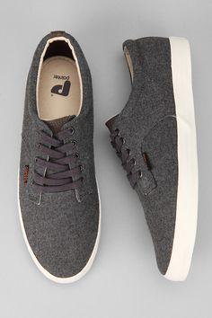 Pointer A.F.D. Wool Plimsoll Sneaker- Sharp
