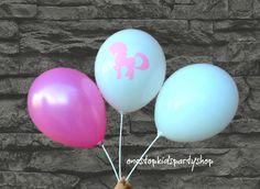 Unicorn Balloon Bouquet (6 Balloons) | ONE STOP KIDS PARTY SHOP
