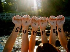My friends and I are totally doing this! Summer 2012 <3