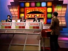 Press Your Luck Episode 118 Press Your Luck, 70s Tv Shows, 80s Tv, Vintage Games, Childhood Memories, Classic, Places, Derby, Classic Books
