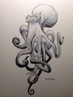 Octopus by RyanOttley