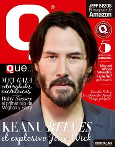 Keanu Reeves Life, Keanu Charles Reeves, John Wick, Angel Silvestre, Fictional Characters, Journals, Cover Pages, Couples, Celebs