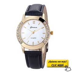 Relojes Pulsera Mujer,Xinan Cuero del Diamante... #reloj #mujer