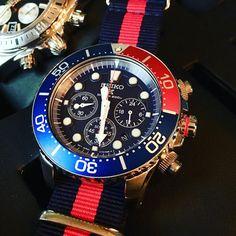 Just love this Seiko  #seiko . . . #seikowatch #ssc019 #sportswatch #solarpower #wristporn #wristshot #wristwatch #wriststrap #nato #natostraps #watch #watches #watchfam #watchporn #redandblue #watchcollector #klokke #klokkeriet #klocksnack #dailywatch #dailypic #gnistjeger #tbt #instagood