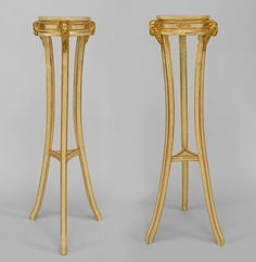 Italian Neo-classic misc. furniture pedestal painted