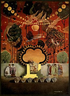 Aladdin, Illustrated by Thomas Mackenzie (1887–1944)