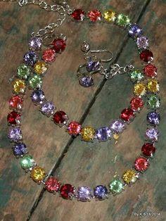 how to make money Swarovski Jewelry, Crystal Jewelry, Crystal Necklace, Swarovski Crystals, Beaded Necklace, Chain Jewelry, Jewelry Box, Jewelery, Bracelets