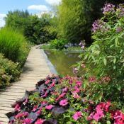 Jardins des Martels en été