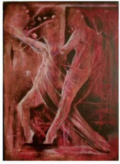 Takes two to tango Commissioned winter. Acrylics on cotton stretched canvas on wood frame. Takes two to tango Tango, Deviantart, Paintings, Painting Art, Painting, Drawings, Grimm, Resim, Illustrations