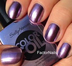 Sally Hansen Purple Alloy - just bought this and I LOVE it!!!
