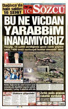 """""""Adalet ölmüştü ama vicdan yaralıydı Bugün onu'da kaybettik! TÜRKİYEM YEZİD'LERE İNAT BAŞIN SAĞOLSUN... """""""