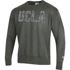 6d18bda3 UCLA Distressed Block Crewneck Sweatshirt - Graphite