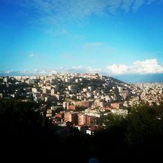 Il #Vomero e Castel Sant Elmo visti da #VillaMaria a #Posillipo  #Napoli #Naples #Napl #Napoles #Neapol #partenope #napolidavivere #foto_napoli #napolipix #seidinapoli #NaplStateOfMind #InstaNapoli #scattanapolicontest #ig_napoli #ig_napule #igersnapoli #TerraMia #VesuvioCoast #VivoNapoli #NapoliProject #paesagginapoletani #Briganti #foto_briganti #Campania #ig_campania #ig_regionecampania #igerscampania