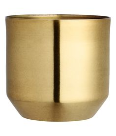 Check this out! Metal plant pot. Diameter at the top 13 cm, height 13 cm. - Visit hm.com to see more.