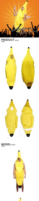 Весело взрослых банан костюм костюм унисекс экипировка один размер подходит для большинства необычные платья, принадлежащий категории и относящийся к на сайте AliExpress.com   Alibaba Group