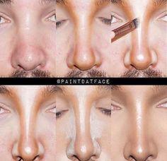 39 ideas for makeup tutorial contouring nose makeup MakeupIdeasForTeens 626352260659383567 New Makeup Ideas, Makeup Inspo, Makeup Art, Makeup Inspiration, Makeup Tips, Makeup Products, Nose Makeup, Contour Makeup, Skin Makeup