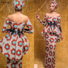 Lovely Ankara Styles 2018 for Curvy African Women, you will do with Ankara if you're that woman with the correct body curves. you'll look super stunning and classy in Ankara with the correct designs and exquisite fabrics. Latest African Fashion Dresses, African Print Dresses, African Print Fashion, Africa Fashion, African Dress, Fashion Prints, Fashion Decor, African Attire, African Wear