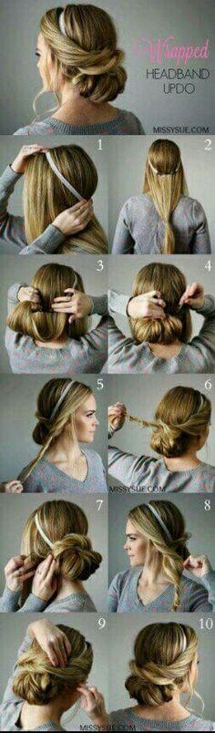 Nise hair style