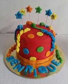 Mini bolo  mesversario  carnaval