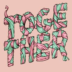 'Together' typography