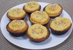 Mini Cupcake de Pamonha - Na Biroskinha
