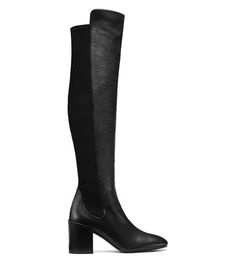 The HALFTIME Boot in Black Nappa Leather