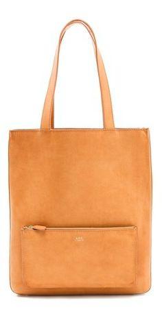a.p.c. cabas bag.