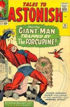 Tales to Astonish 53 Giant-Man silver age marvel comics group Silver Age Comics, Comic Book Pages, Comic Book Covers, Marvel Comic Books, Comic Books Art, Comic Art, Book Art, Jack Kirby, Gi Joe