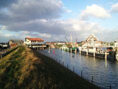 Hoogwater Texel Oudeschild