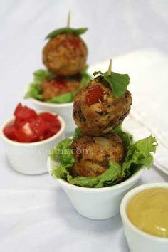 Light and Airy Ground-Pork Keftedes   Greek Food - Greek Cooking - Greek Recipes by Diane Kochilas