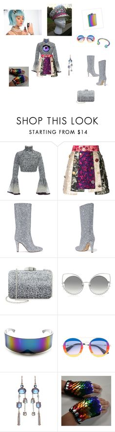 """""""Galaxy Heyheyyyeyeya"""" by sebastians ❤ liked on Polyvore featuring Hussein Bazaza, Dolce&Gabbana, Brother Vellies, Nordstrom, Marc Jacobs, ZeroUV, Gucci and Irene Neuwirth"""