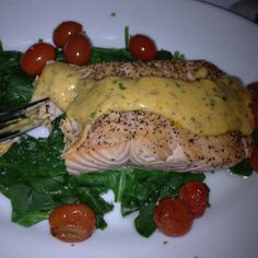 fish dishes for dinner | Daddy's dinner tonight, Alaskan king salmon!!!! Lucky! | Fish Dishes
