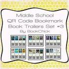 Middle School QR Code Bookmark Book Trailers Set #3