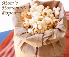 Simple Old Fashioned Homemade Popcorn Recipe. done in 4 minutes!