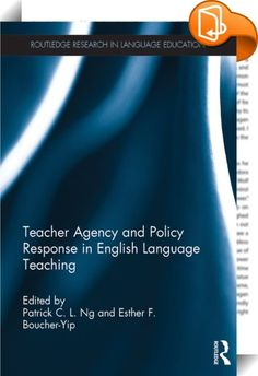 Teacher Agency and Policy Response in English Language Teaching    ::  <P>The role of English in the global arena has prompted official language-in-education policy makers to adopt language education policies to enable its citizens to be proficient in English and to access knowledge. Local educational contexts in different countries have implemented English education in their own ways with different pedagogical goals, motivations, features and pedagogies. While much of the research cit...