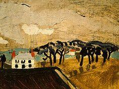Ben Nicholson - Cumberland Farm - 1930