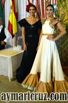 Flamencas en la Feria de Lebrija 2015 76 Flamenco Skirt, Flamenco Dresses, Dress Outfits, Fashion Outfits, Spanish Fashion, Dress Clothes For Women, Summer Dresses, Formal Dresses, Prom Dresses