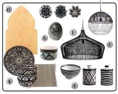boutons de meubles ethnique