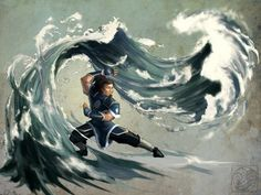 waterbender. Part of the second birthpower includes being able to control the direction of the water, or its current. As long as it's still moving, the telekinetic has control over it.