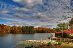 Autumn in Columbia, Maryland