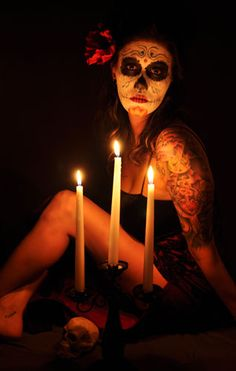 Dia de los Muertos, Day of the Dead Photoshoot by Bob Metternich Photography