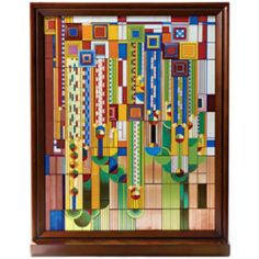 Frank Lloyd Wright Glass | pinned by donna whitesel