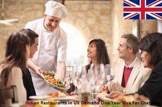 Indian Restaurants in UK Demand One Year Visa For Chefs